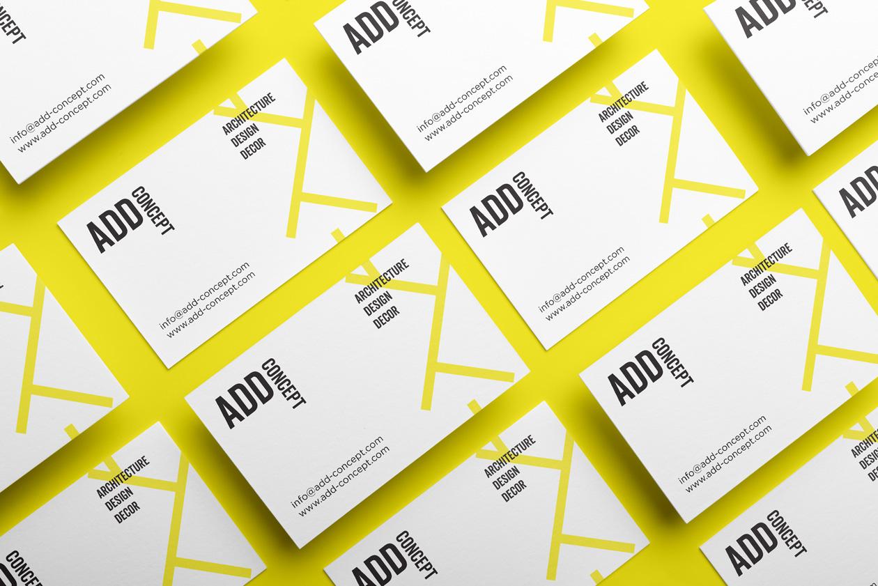 logo branding add concept 01