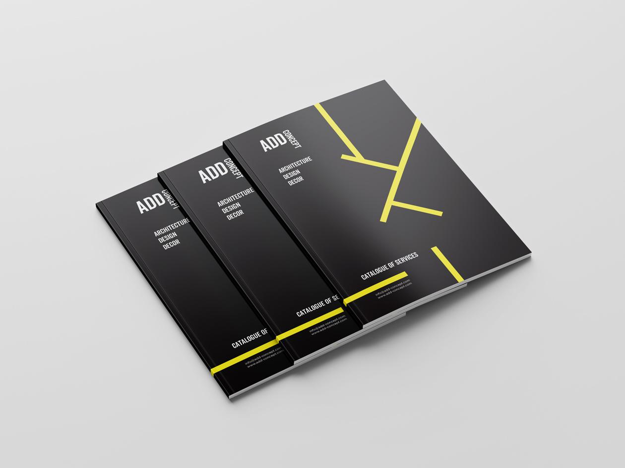 logo branding add concept 02