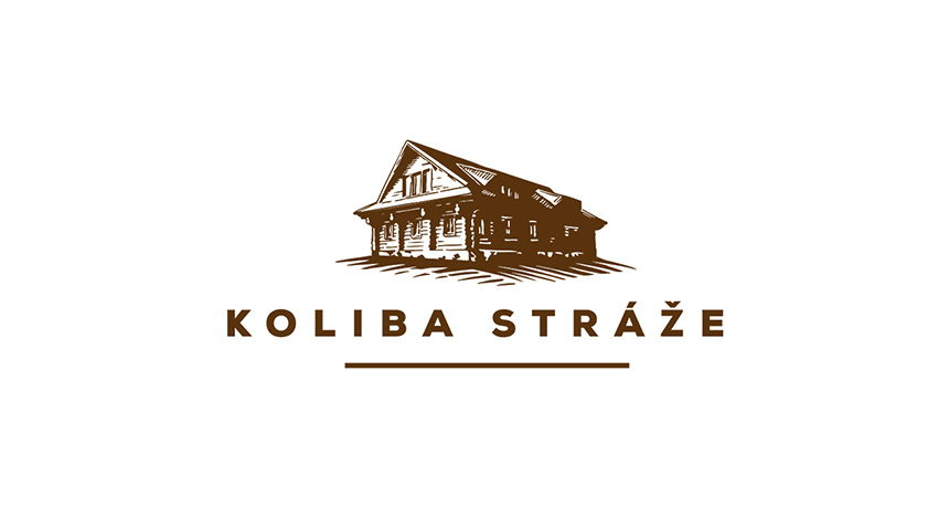 logo design koliba straze zvolen