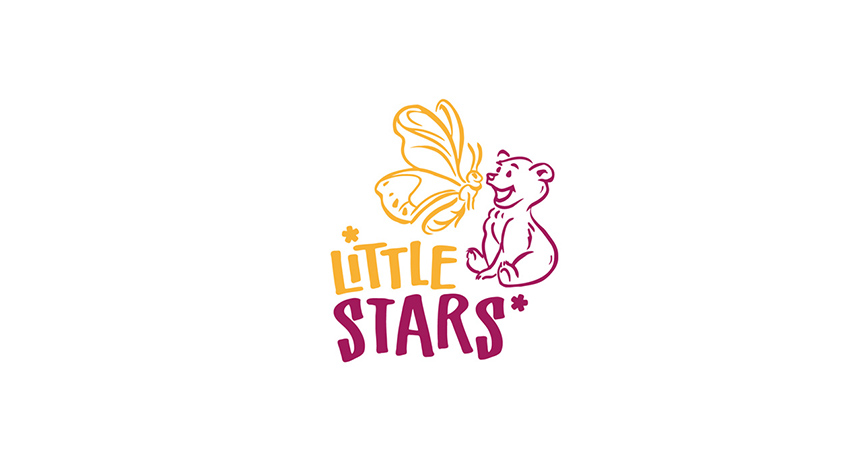 logo design little stars
