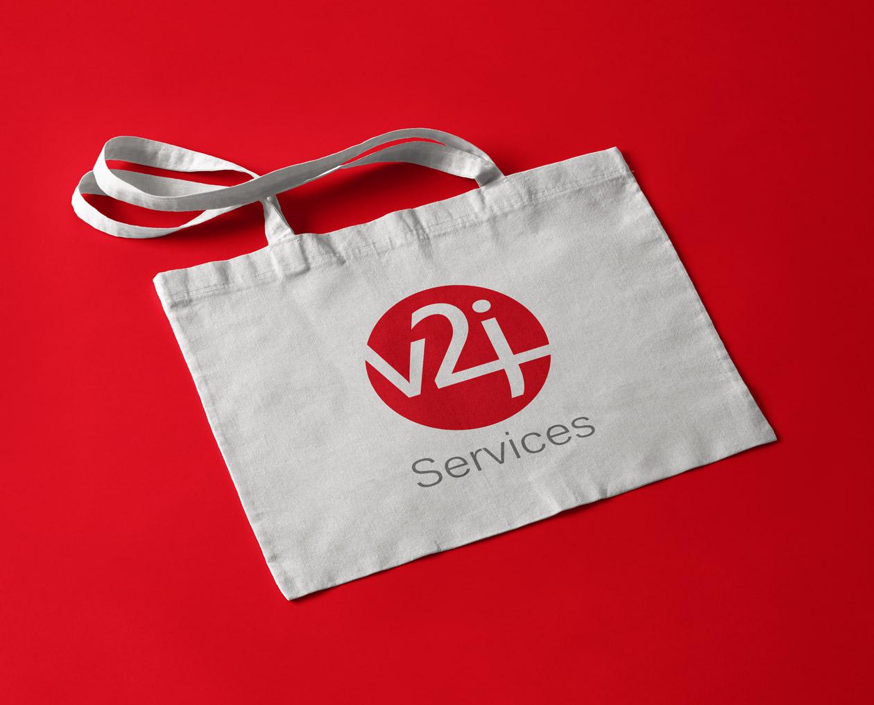 logo design v2j services 07