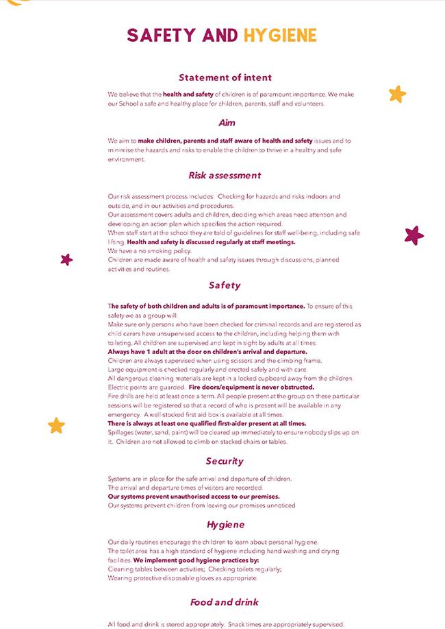 webdesign LITTLE STARS